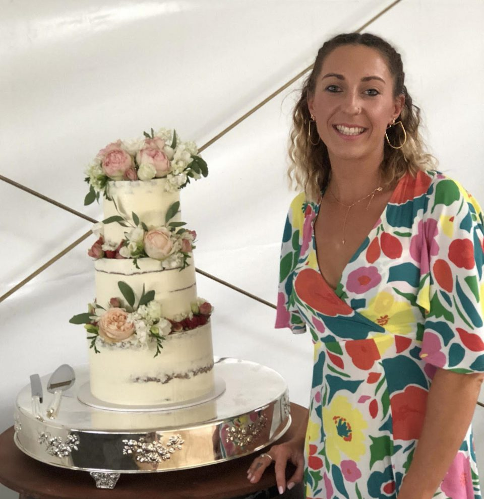 Kristin with Delicious Cake